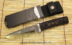 Rockstead GI. Охотничий нож, каплевидная форма клинкаи дроп-пойнт