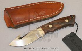 GUT hook skinner. Охотничий нож, форма клинка скиннер, нескладной