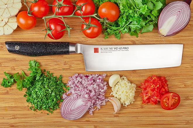 Нож кухонный Накири 17 см KASUMI 54017