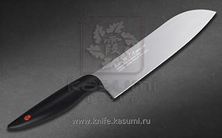 Нож кухонный Сантоку 18 см KASUMI 22018/GR