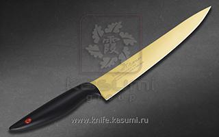 Нож Слайсер длятонкой нарезки 20 см KASUMI 20020/G