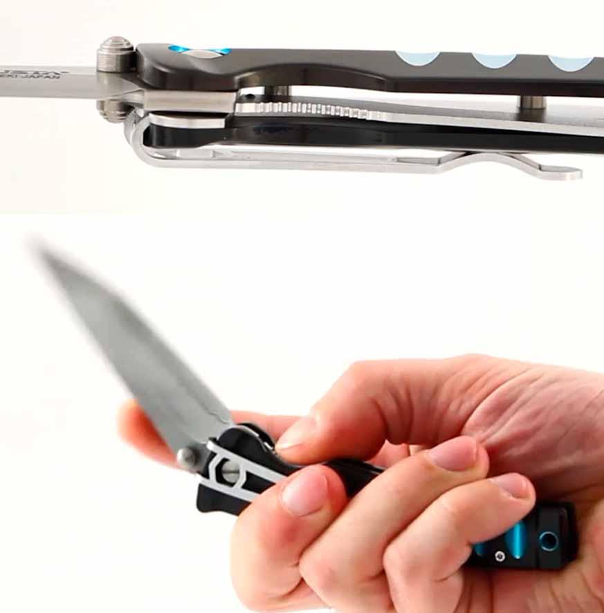 современных складных ножах